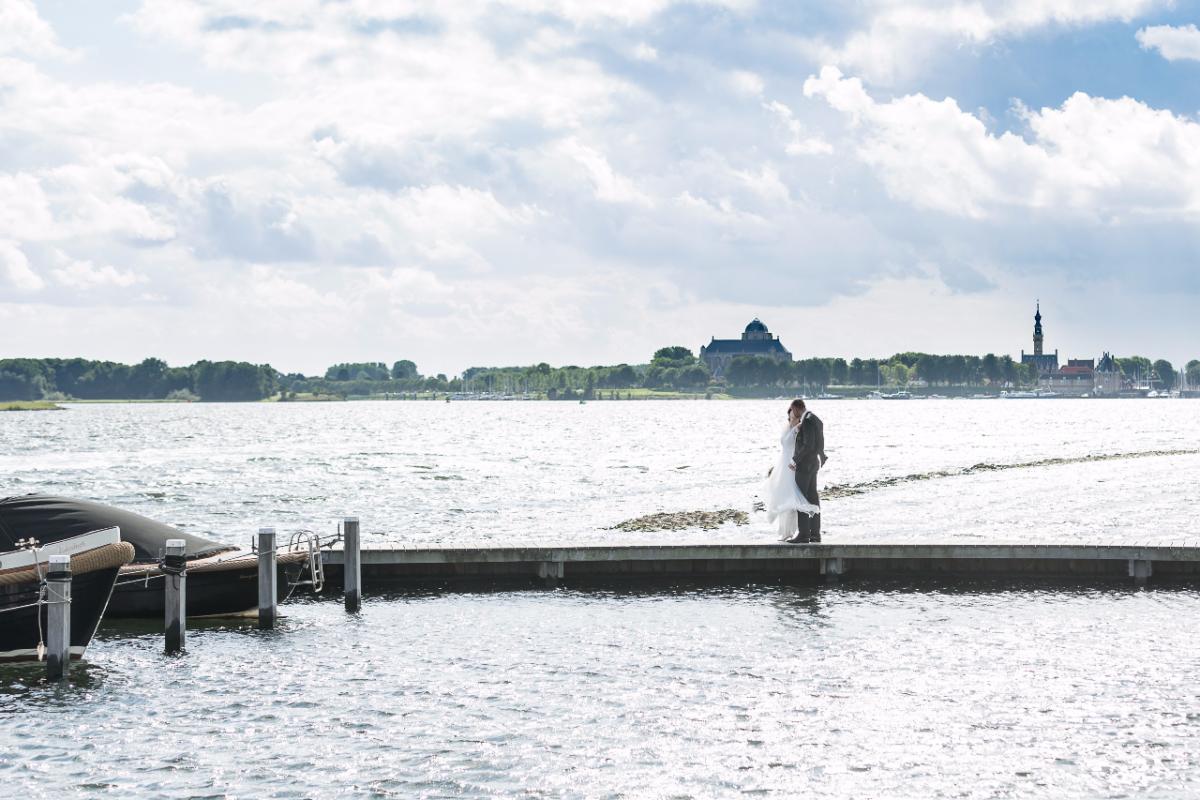 Trouwen aan het Veerse meer